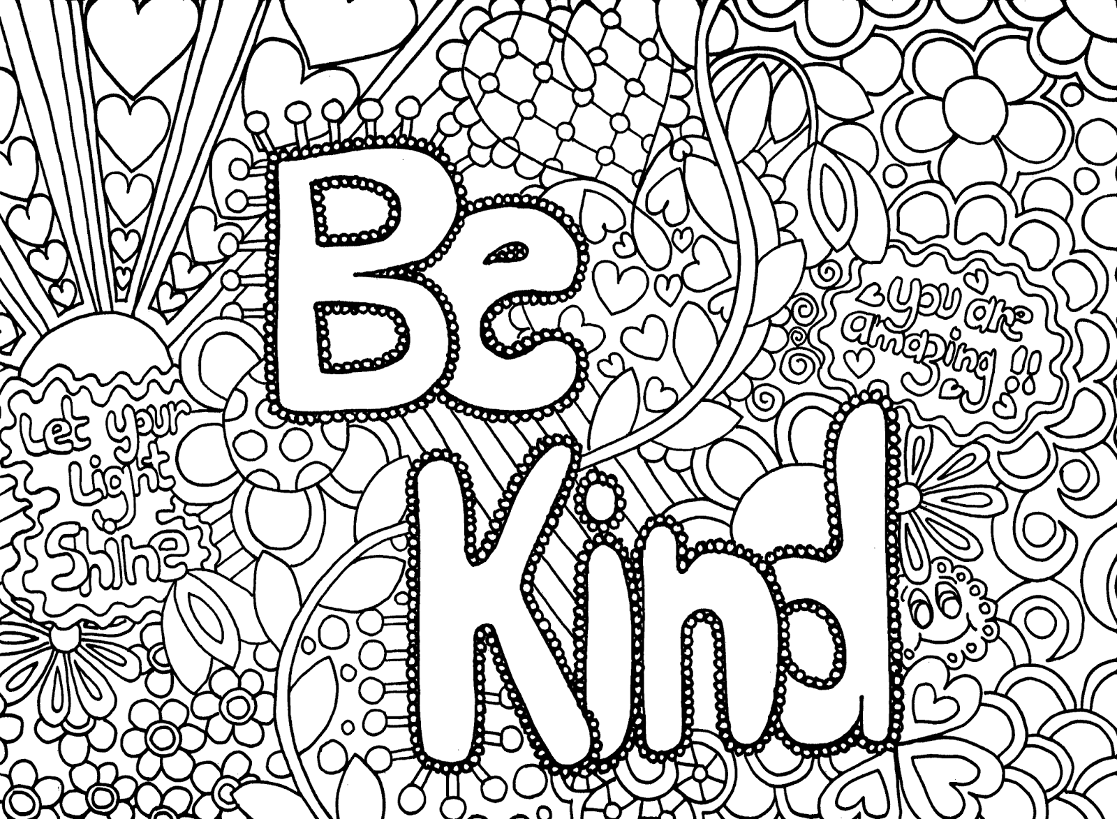 coloring pages for middle school photo - 1