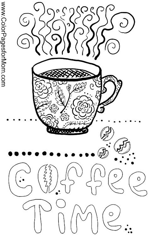 coloring pages for mom photo - 1