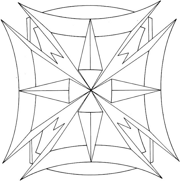 coloring pages for mom geometric photo - 1