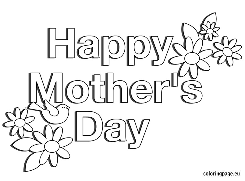 coloring pages for mothers day for grandma photo - 1