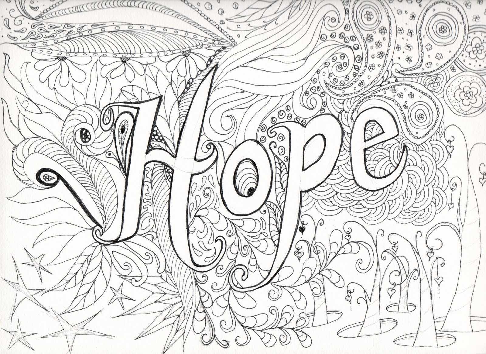 coloring pages for teenagers photo - 1