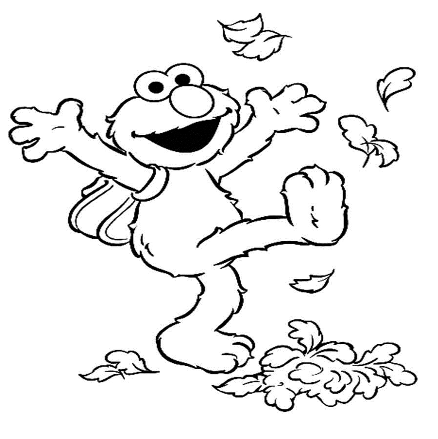elmo coloring pages photo - 1