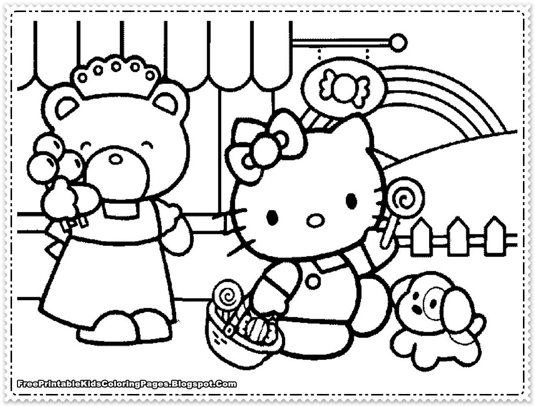 free coloring pages for girls photo - 1