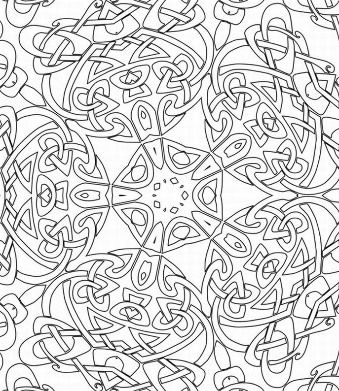 free printable coloring pages for adults photo - 1