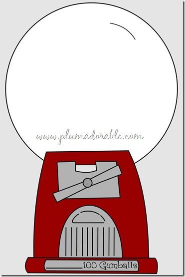 free printable gumball machine coloring pages photo - 1