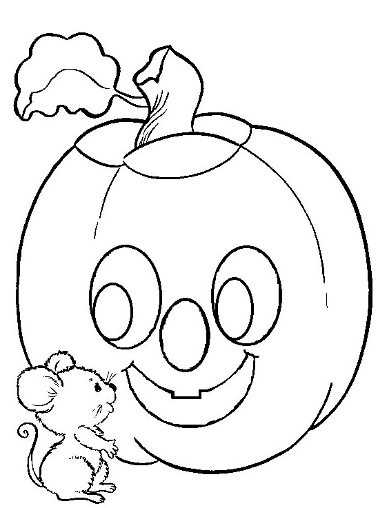 free printable halloween coloring pages photo - 1