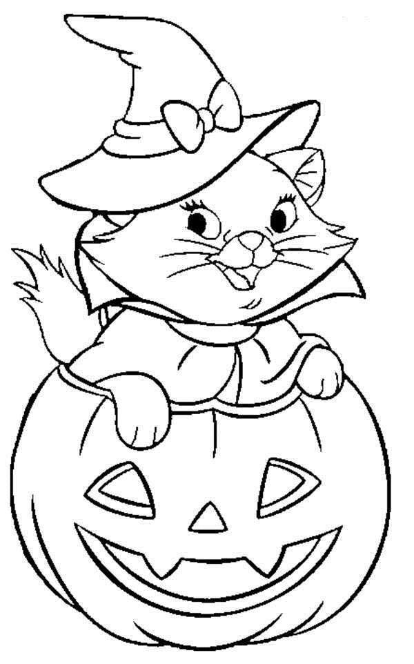 free printable halloween disney coloring pages photo - 1