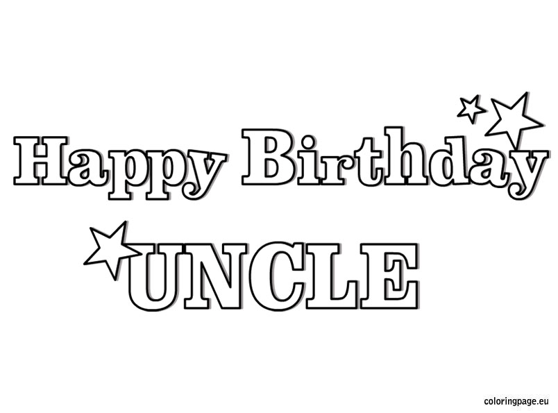 free printable happy birthday dad coloring pages photo - 1