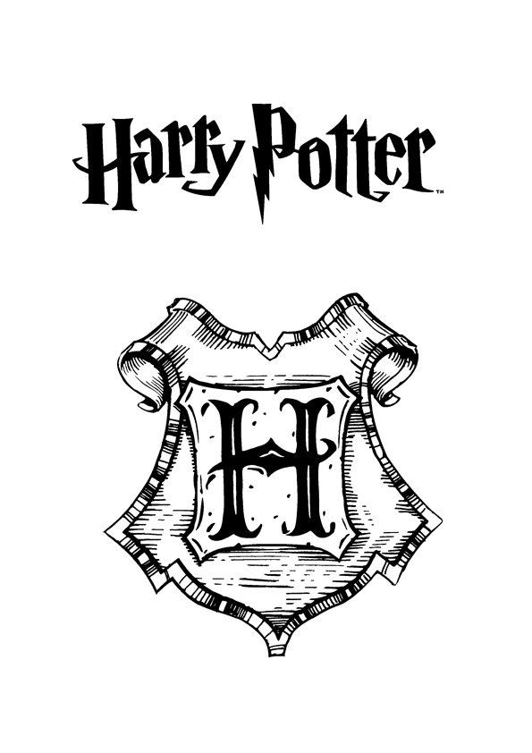 free printable harry potter coloring pages photo - 1