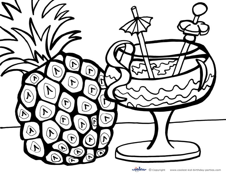 free printable hawaii coloring pages photo - 1