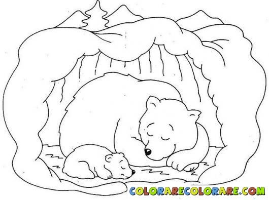 free printable hibernating bear coloring pages photo - 1