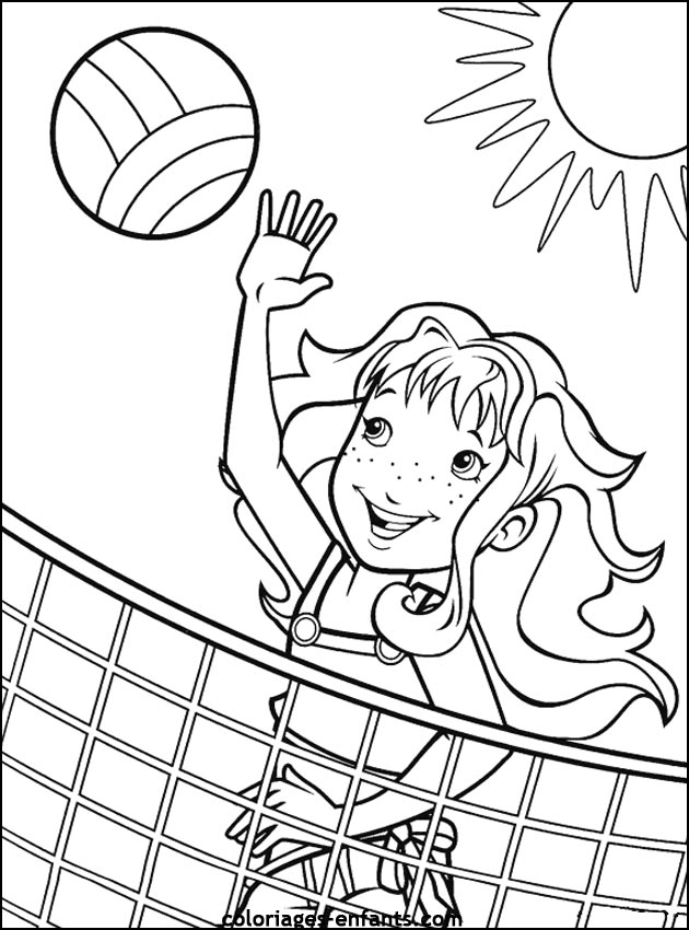 free printable holly hobbie coloring pages photo - 1