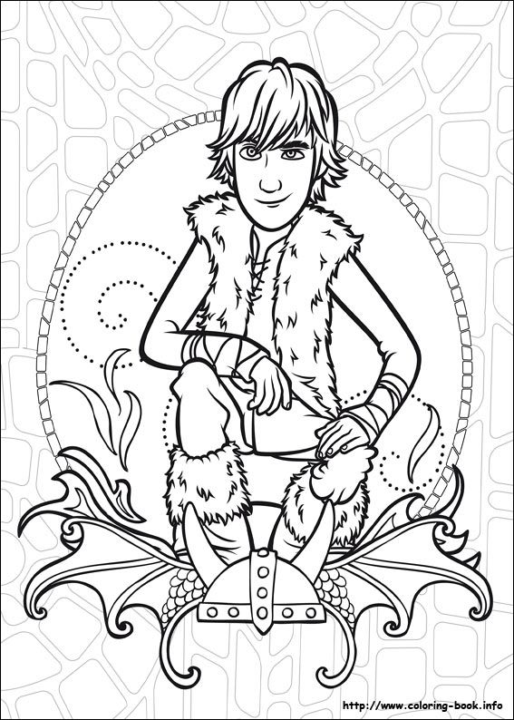 free printable how to train your dragon coloring pages photo - 1