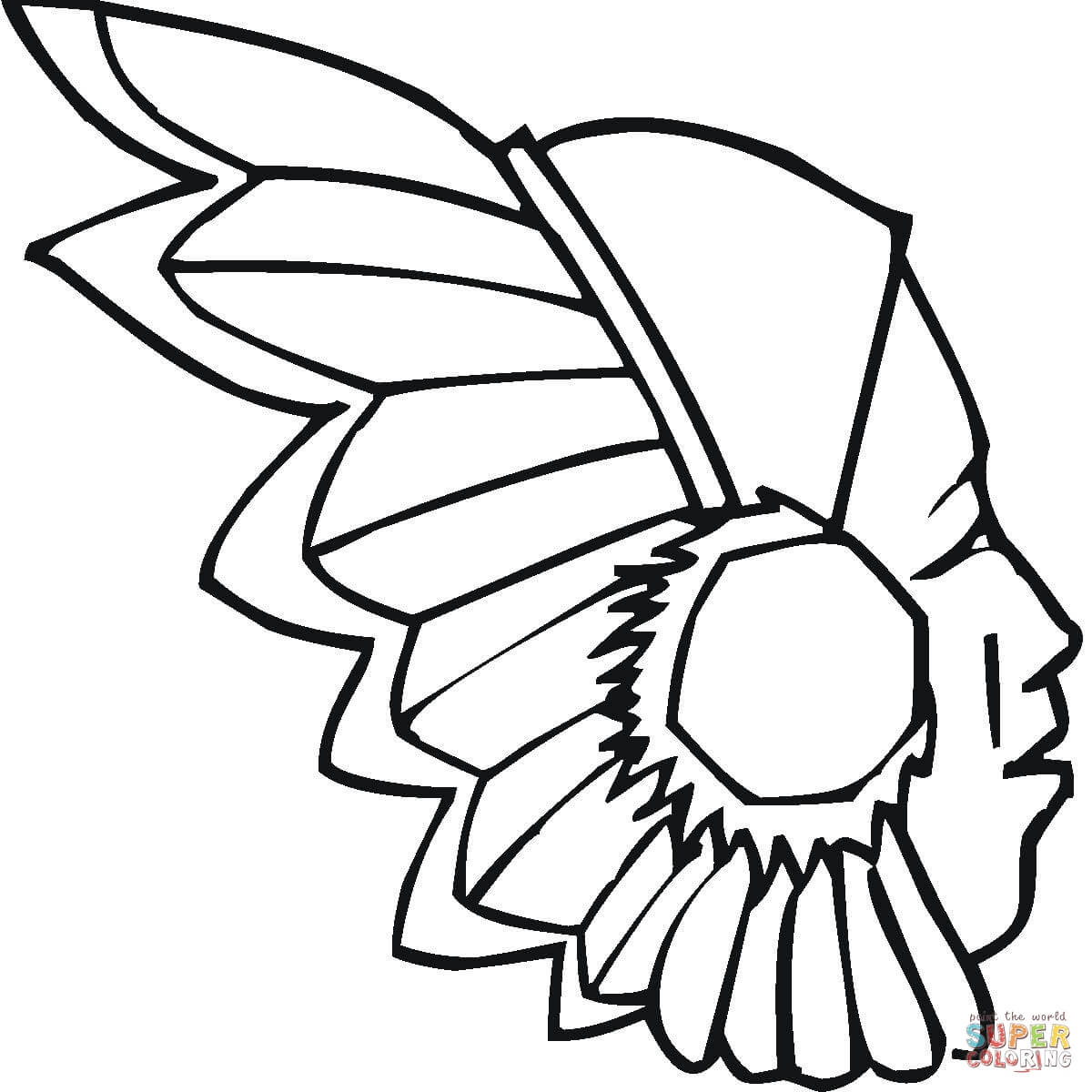 free printable indian coloring pages photo - 1