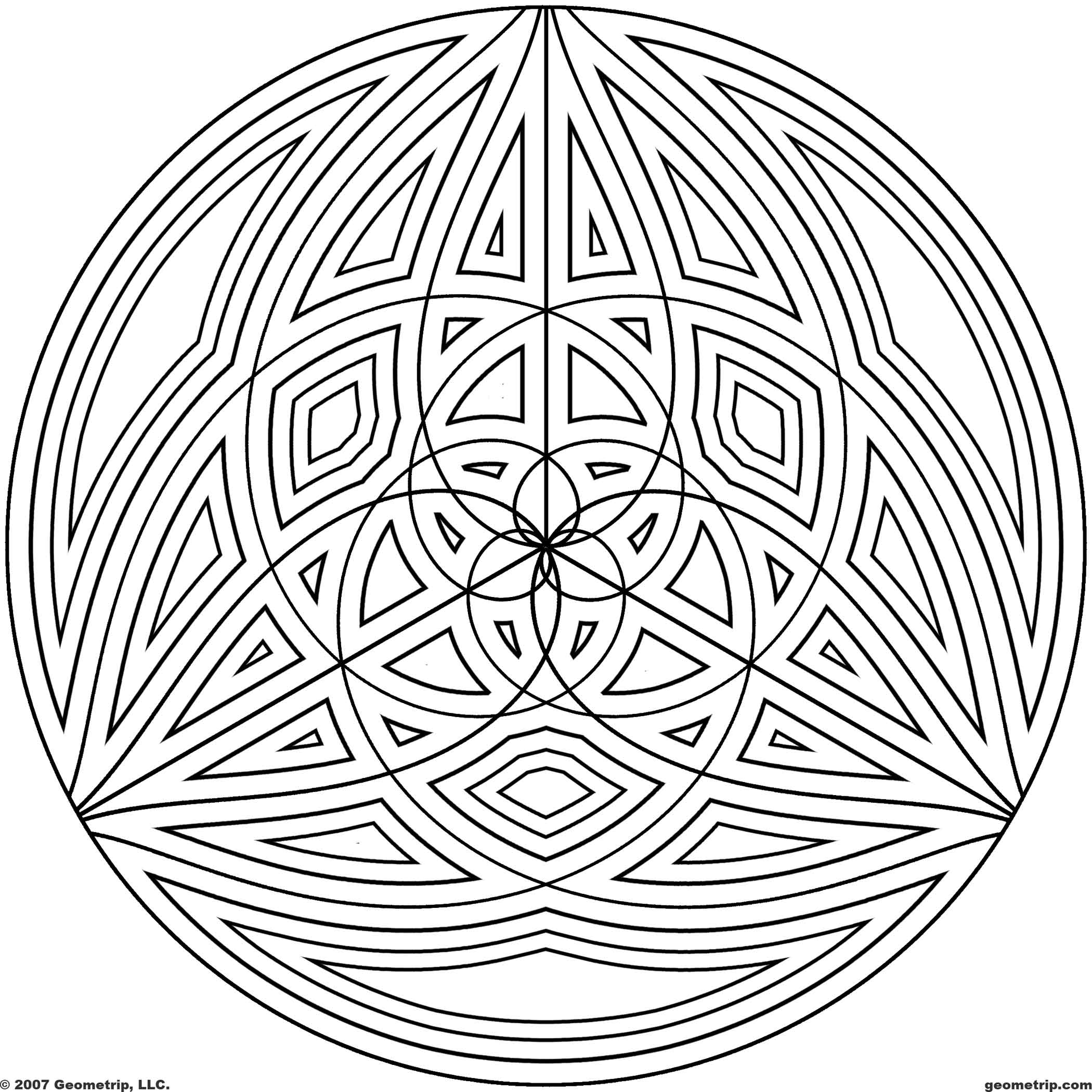 free printable intricate coloring pages photo - 1