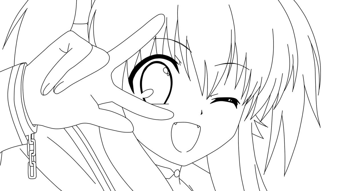 free printable inuyasha coloring pages photo - 1
