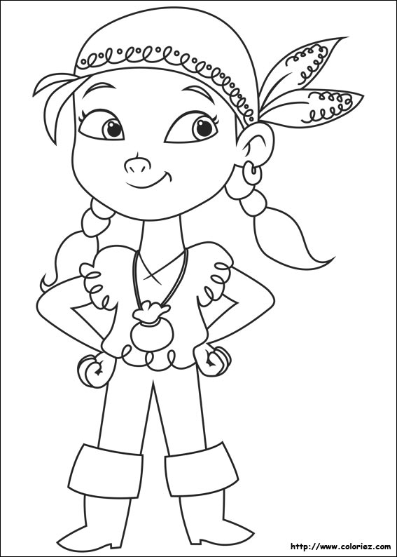 free printable jake and the neverland pirate coloring pages photo - 1