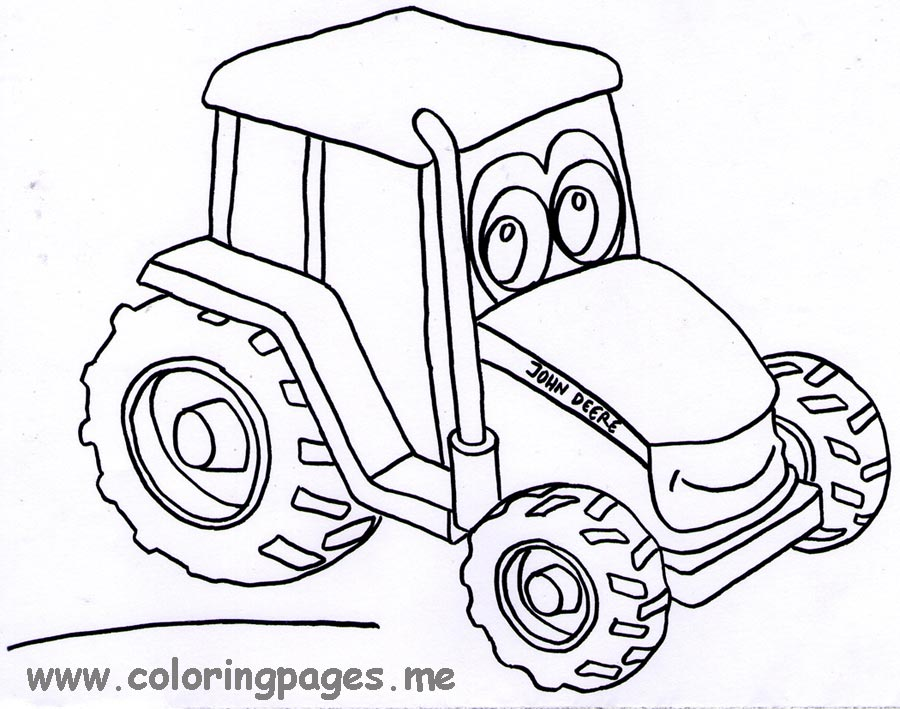free printable john deere coloring pages photo - 1