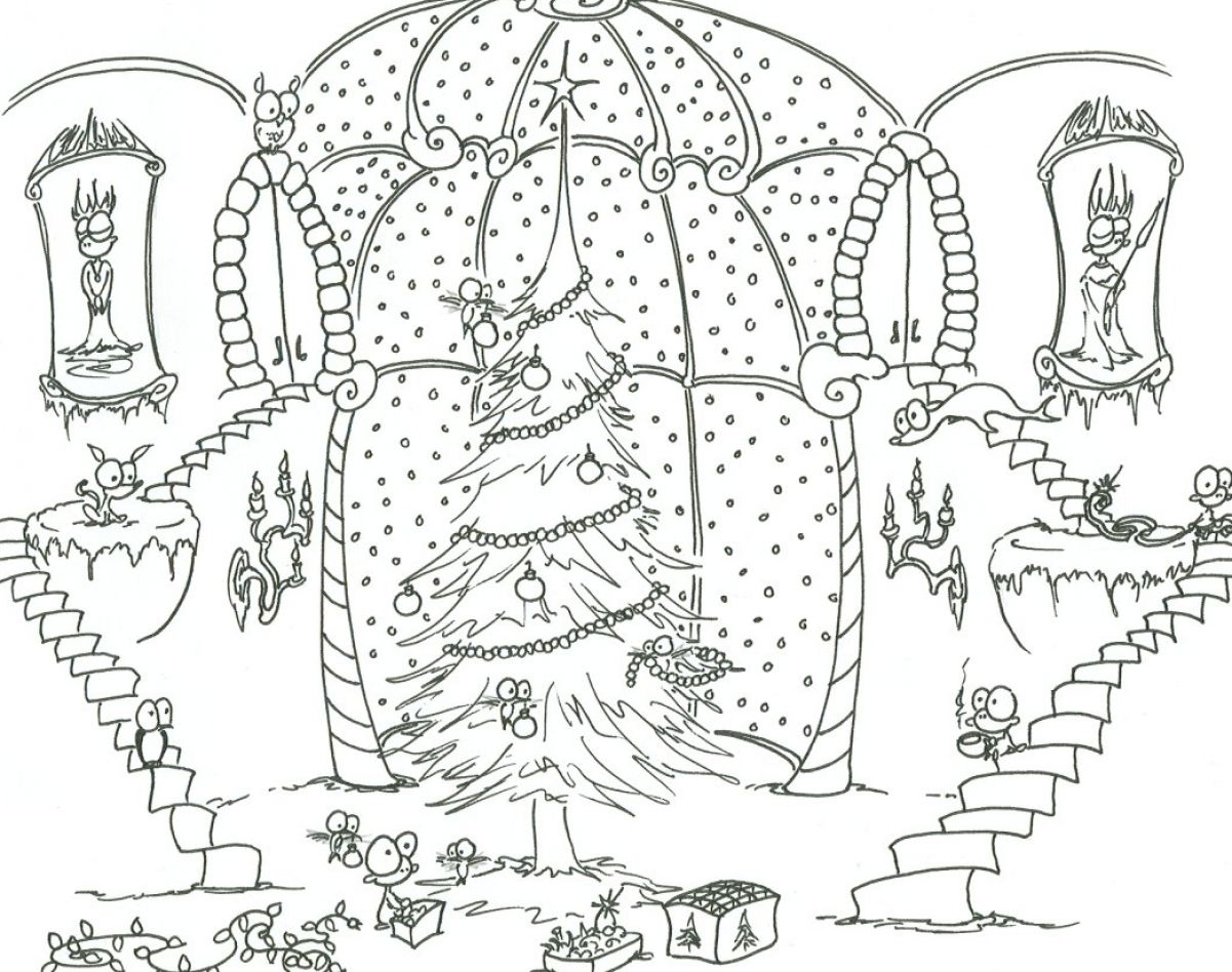 free printable landscape coloring pages photo - 1