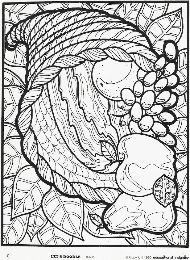 free printable let s doodle art coloring pages photo - 1