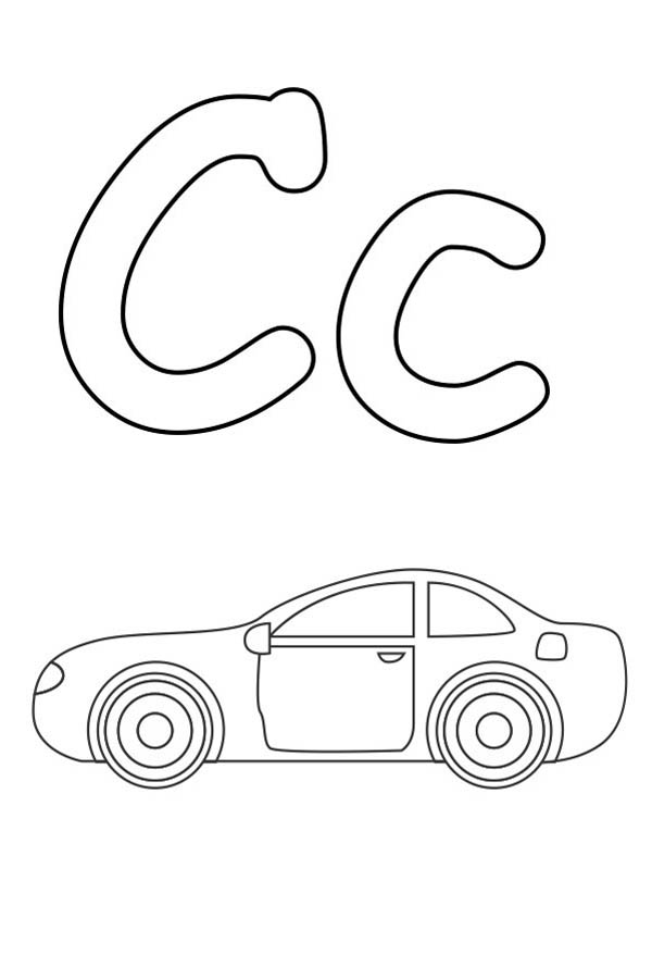 free printable letter c coloring pages photo - 1