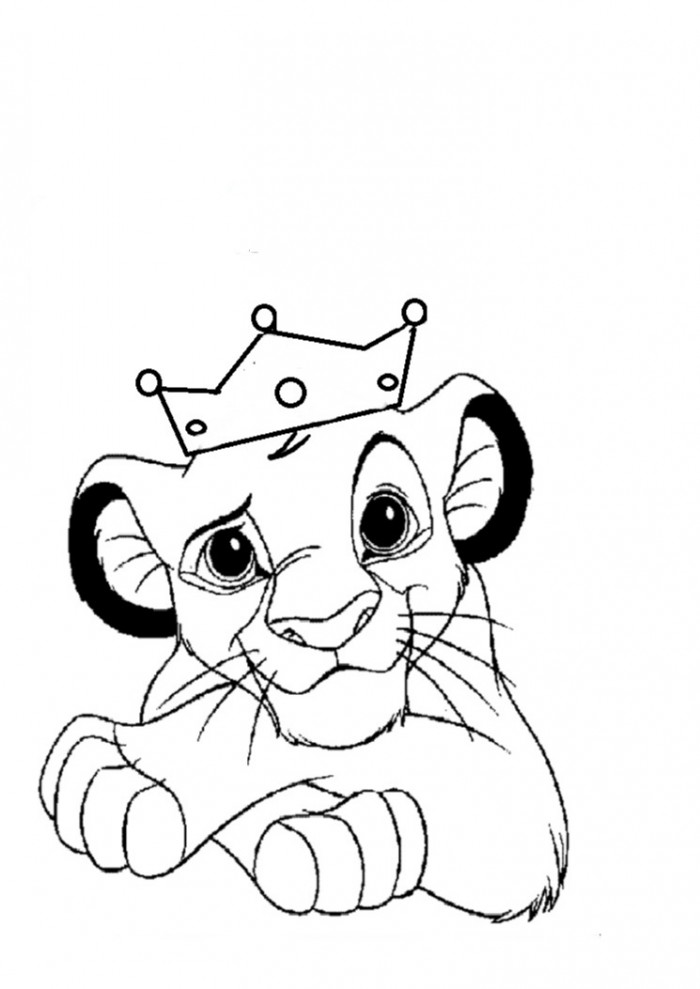 free printable lion king coloring pages photo - 1