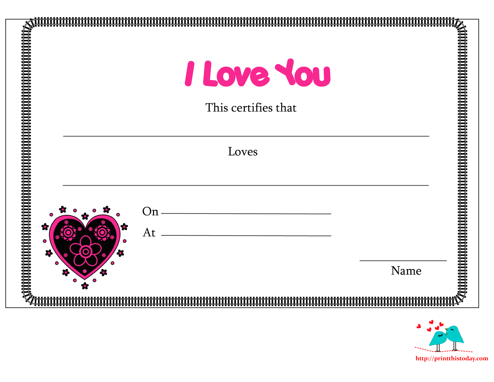 free printable love you coloring pages photo - 1