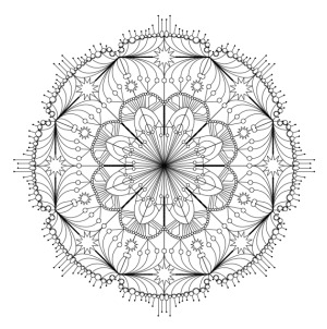 free printable mandala pages for coloring. perfect for a rainy day photo - 1
