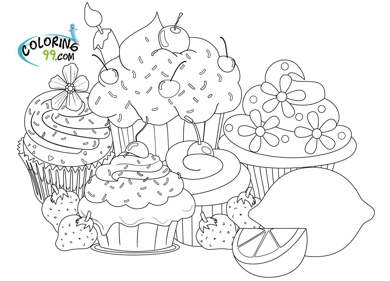 hard coloring pages photo - 1
