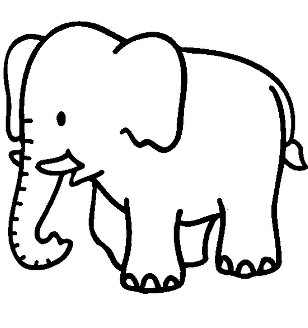 jungle animals coloring pages photo - 1