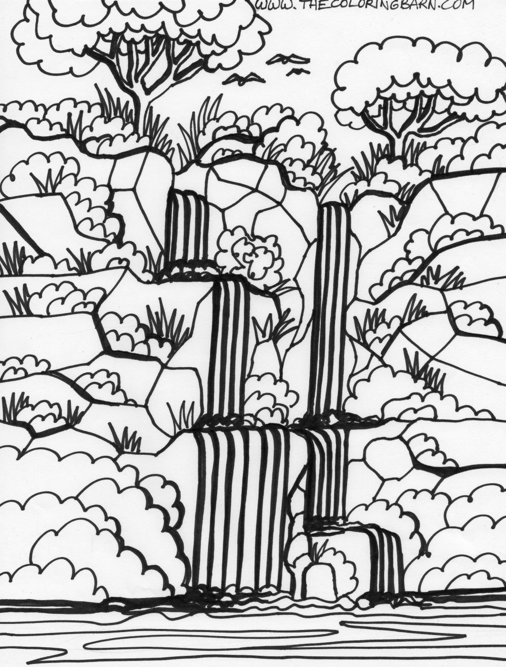 jungle animals coloring pages preschool photo - 1