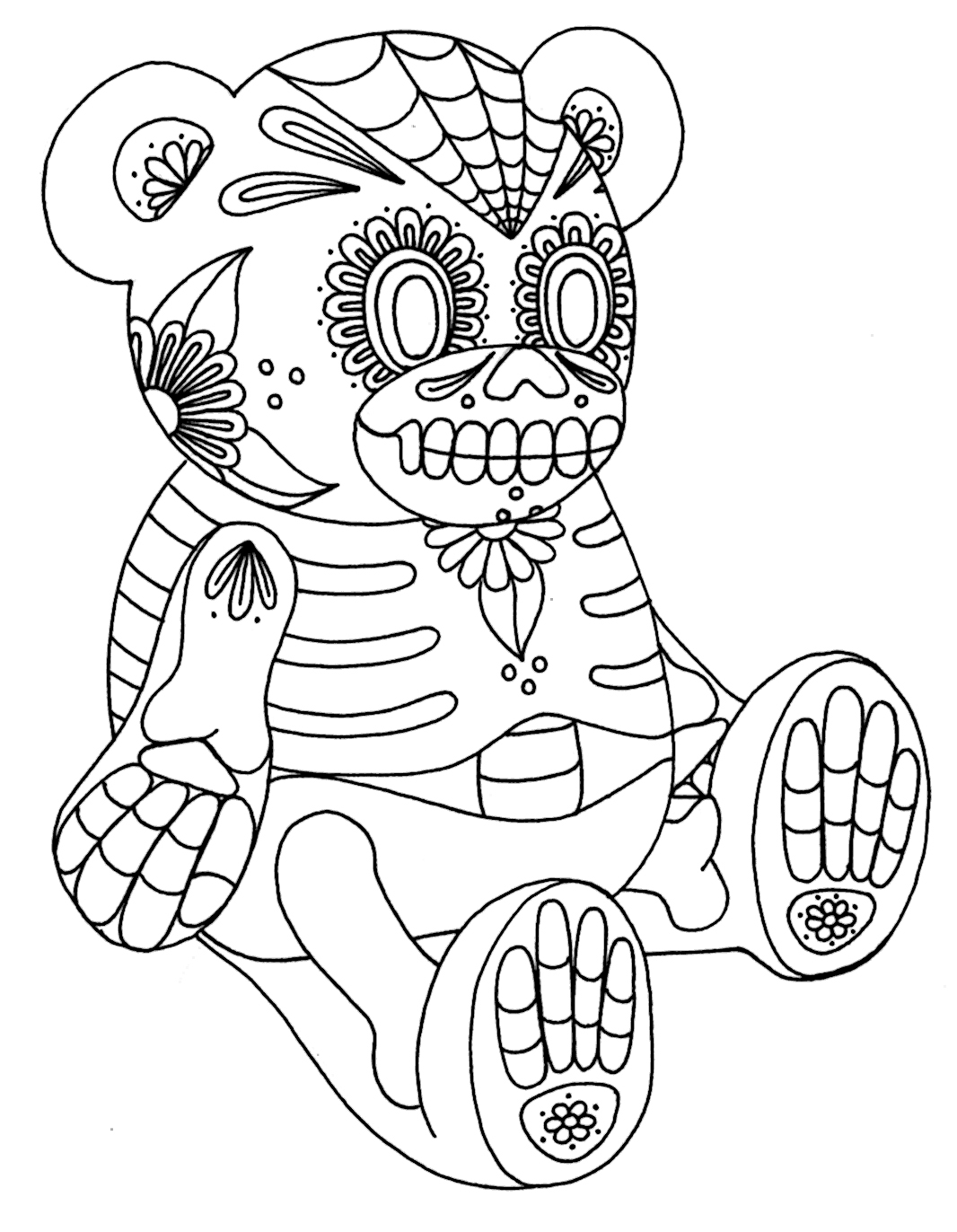 k-9 coloring page photo - 1