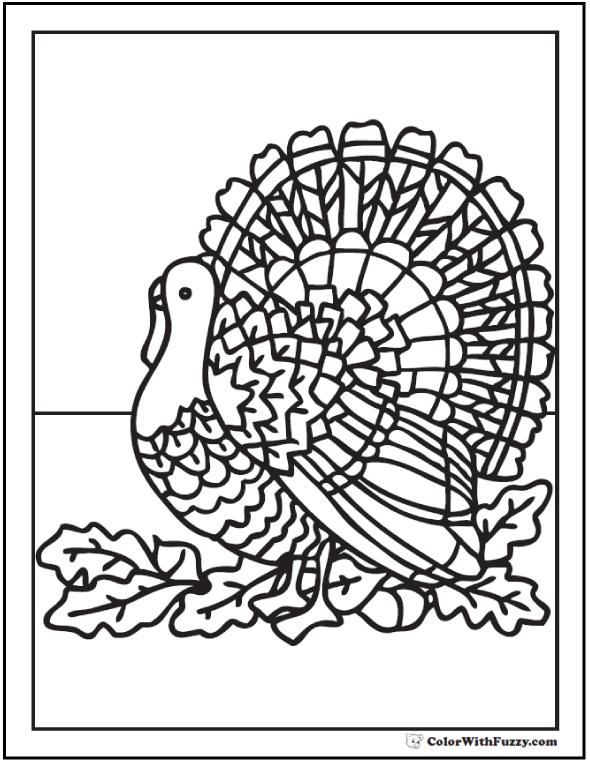 kaboose turkey coloring page photo - 1