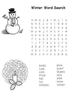 kaboose winter coloring pages photo - 1