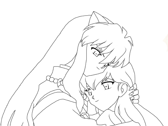 kagome coloring pages photo - 1