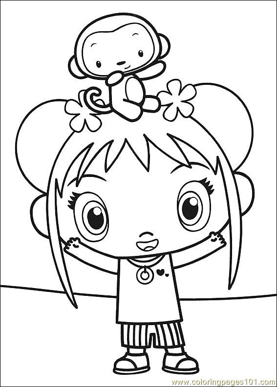 kailan coloring pages printable photo - 1