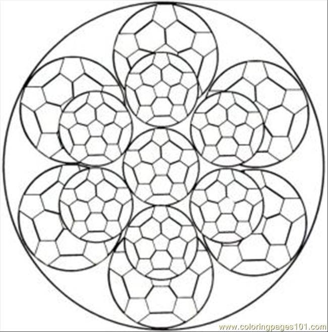 kaleidoscope printables coloring pages photo - 1