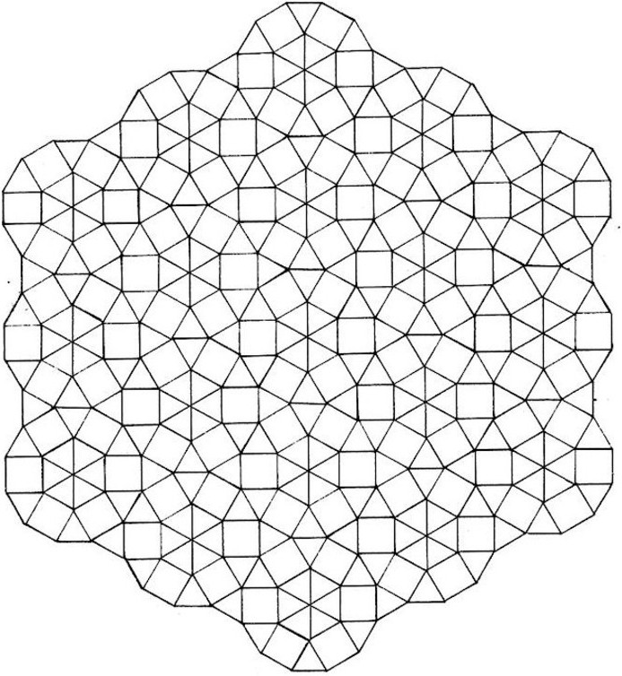 kaleidoscopic design coloring pages photo - 1