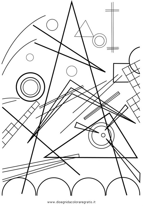 kandinsky coloring pages photo - 1