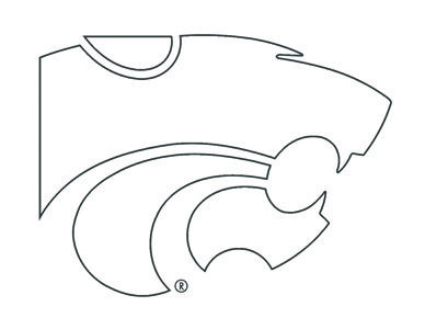kansas state wildcats coloring pages photo - 1