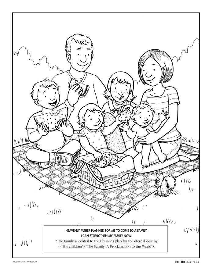 lds coloring pages photo - 1