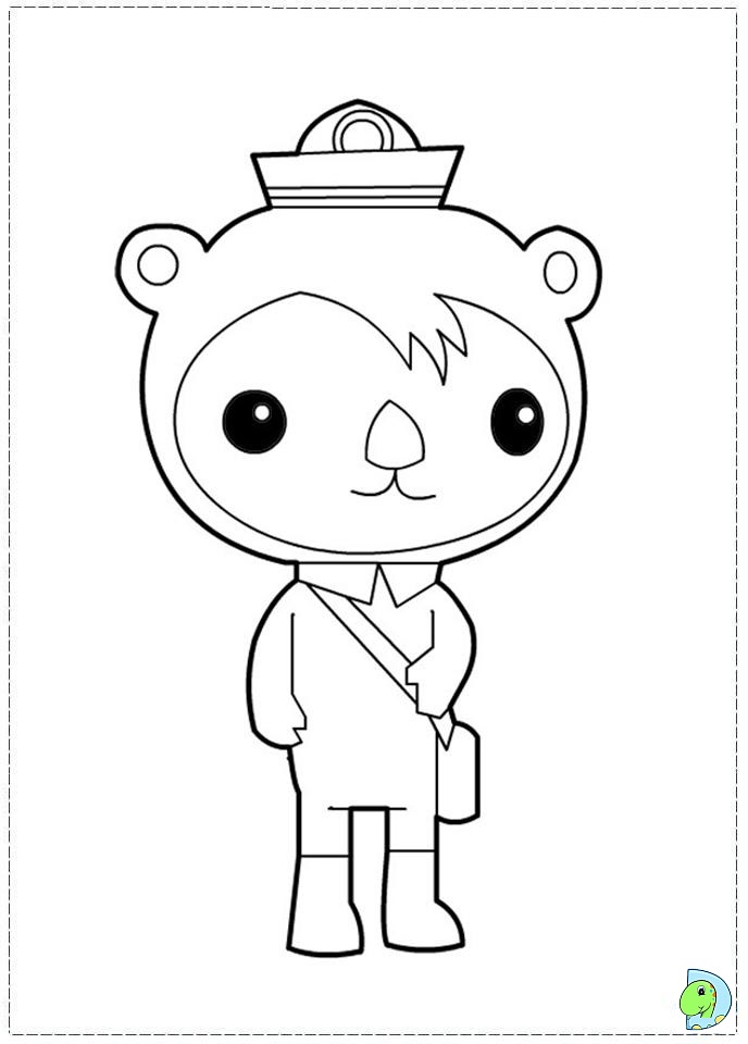 octonauts coloring pages photo - 1