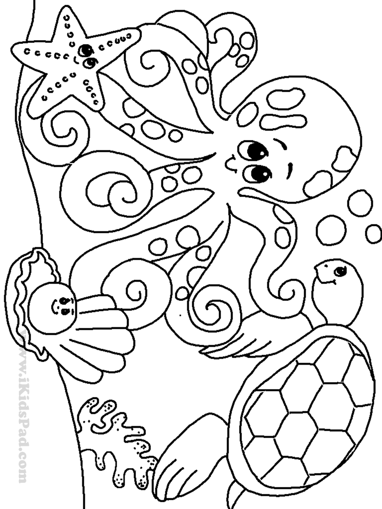 preschool coloring pages photo - 1