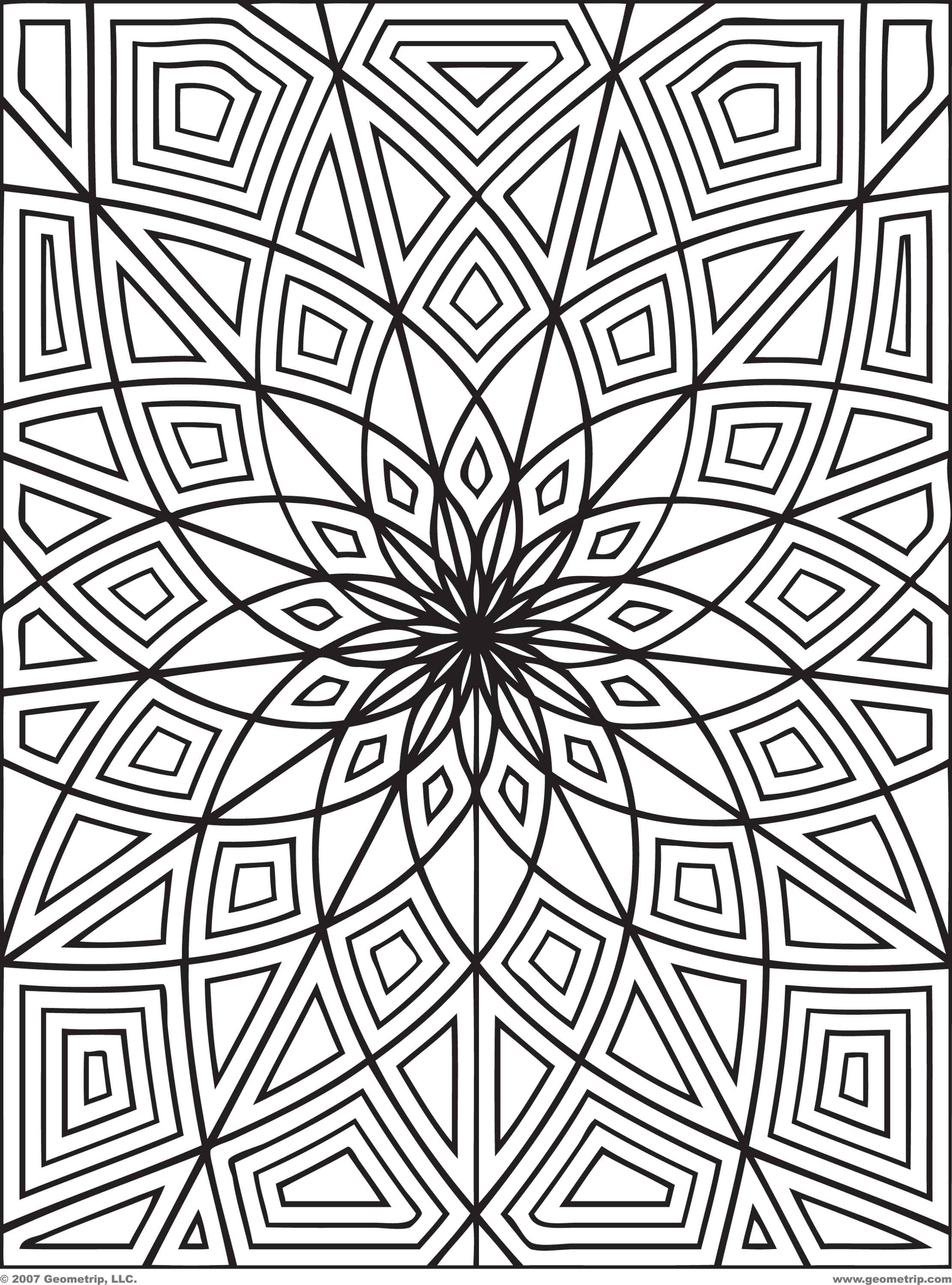 printable coloring pages for adults photo - 1