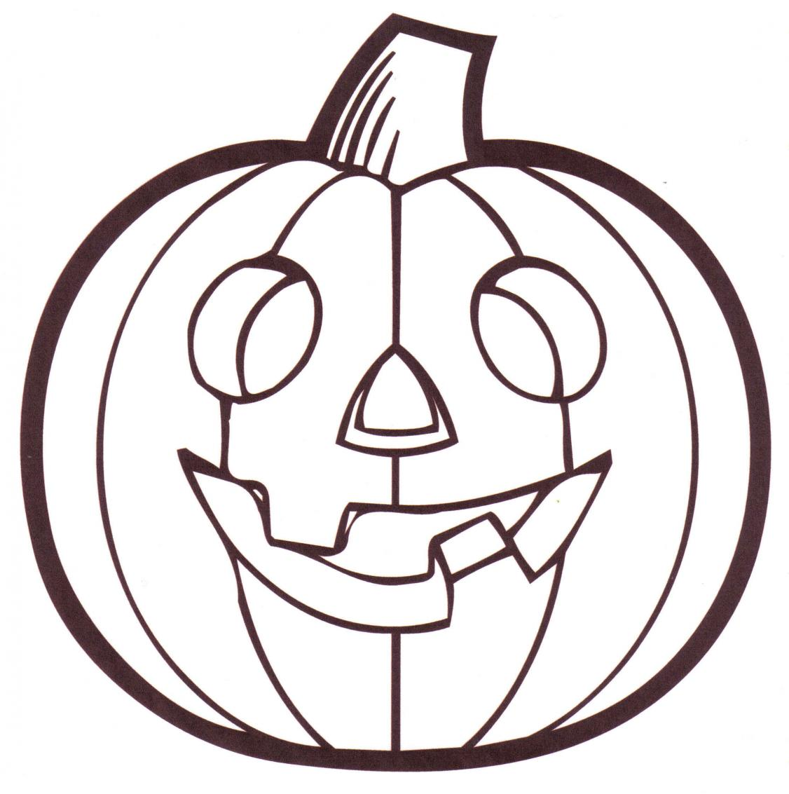 pumpkin coloring pages photo - 1