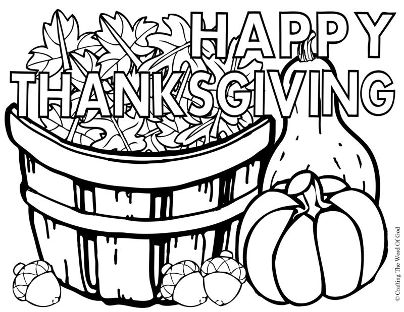 thanksgiving coloring page photo - 1