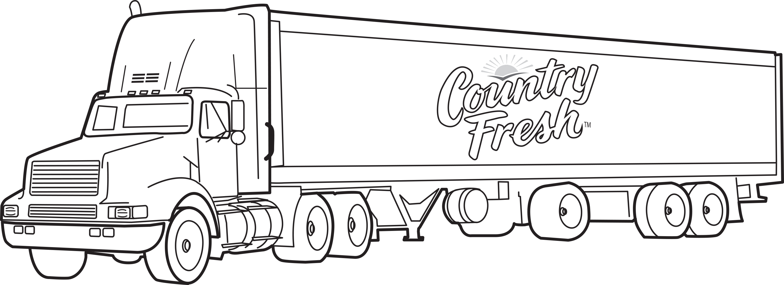 truck coloring pages photo - 1