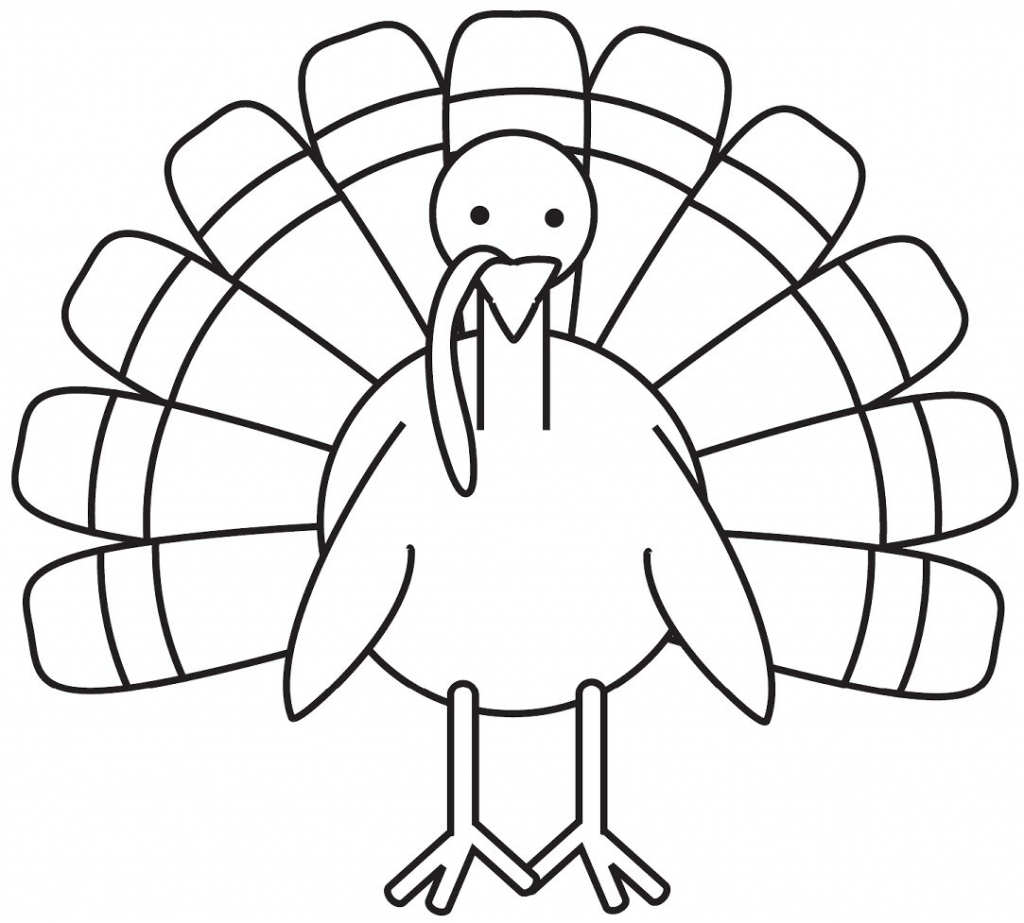 turkey coloring pages photo - 1