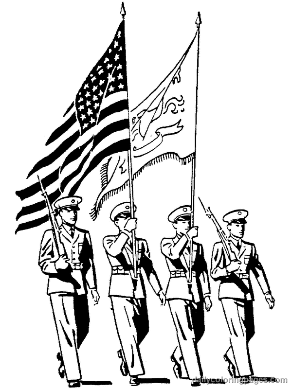 veterans day coloring pages photo - 1