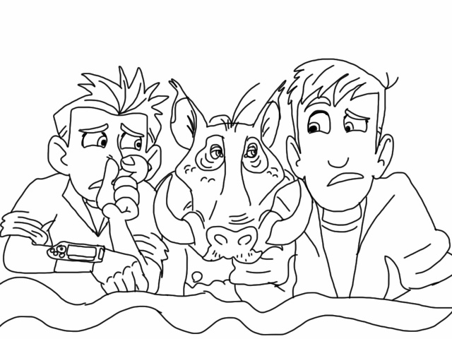 wild kratts coloring pages photo - 1